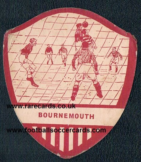 1952 City Bakeries Bournemouth card